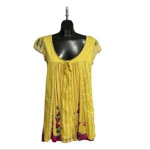YUMI Lined Sun Dress, Size Medium